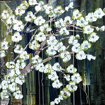 Dogwood at Night by Diane Dean