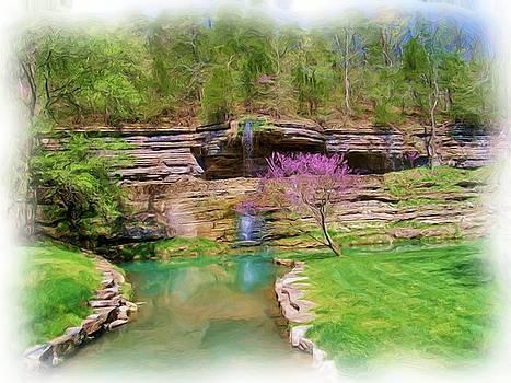 Dogwood Canyon Cliffs2 by Julie Grace