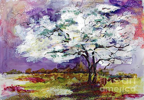 Ginette Callaway - Dogwood Tree Spring Landscape