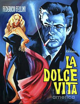 La Doce Vita Federico Fellini by Spiros Soutsos