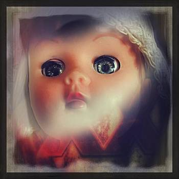 #doll #portrait #popart #iphoneography by Judy Green