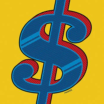 Ron Magnes - Dollar Sign Blue