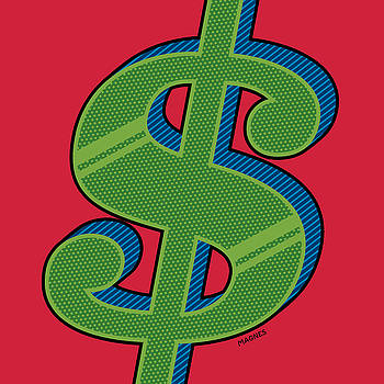 Ron Magnes - Dollar Sign Green