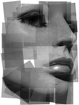 Dollface black and white by Renee Pettersson