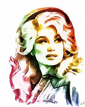 Dolly Parton by Sergey Lukashin