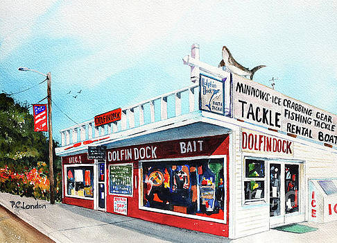 Dolphin Dock I by Phyllis London