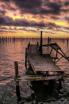 Dolphin Dock by John Loreaux