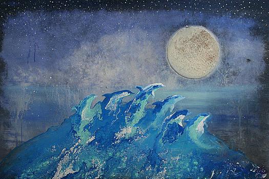 Dolphin Dreams by Alma Yamazaki