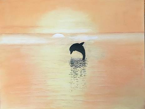 Dolphin Dreams by Peggy Paulson