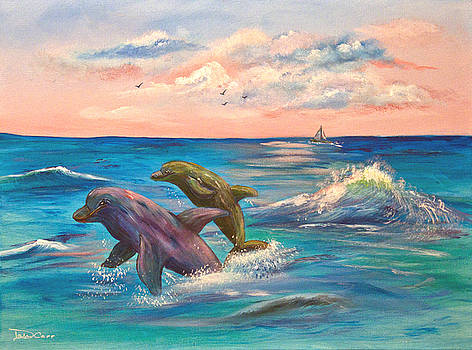 Dolphin Duo by Dale Carr