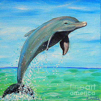 Dolphin by Kirsten Sneath