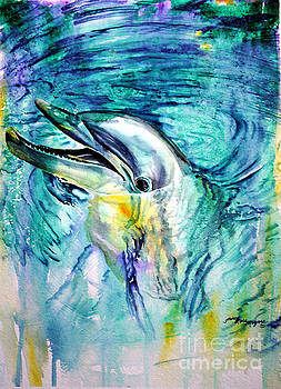 Dolphin Smile by Tracy Rose Moyers