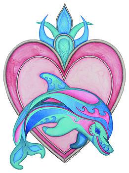 Dolphin by Tara Warburton-Schwaber