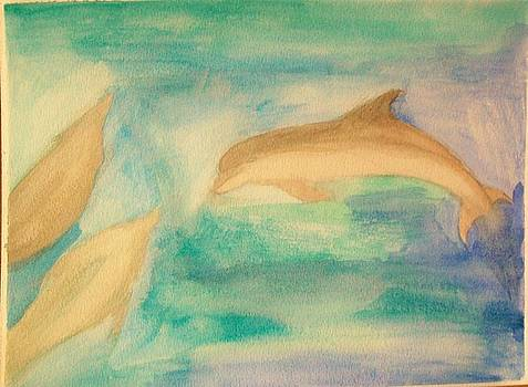 Dolphins by Mark Richard Luther