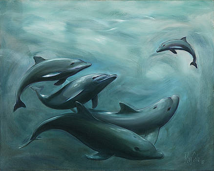 Dolphin Fun by Ray Cole