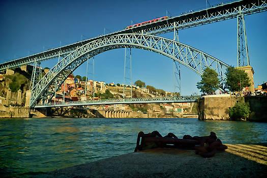 Dom Luis double deck bridge in Portugal.  by Sven Brogren