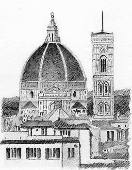 Duomo Florence by Al Intindola