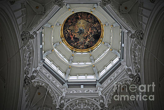 Jost Houk - Dome of Cathedral of Our Lady Antwerp