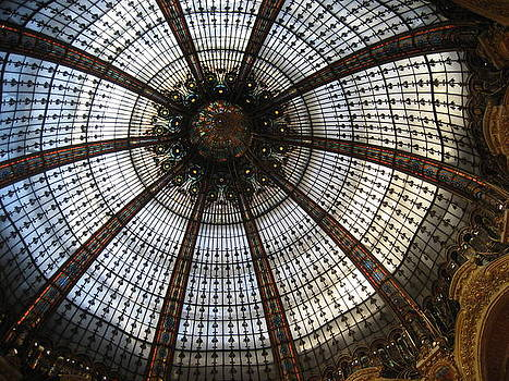 Dome of the Galleries Lafayette by Victoria Heryet
