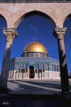 Dome of the Rock - Jerusalem by Stephen Fanning
