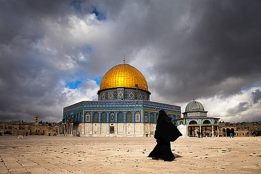 Dome of the Rock by Marji Lang