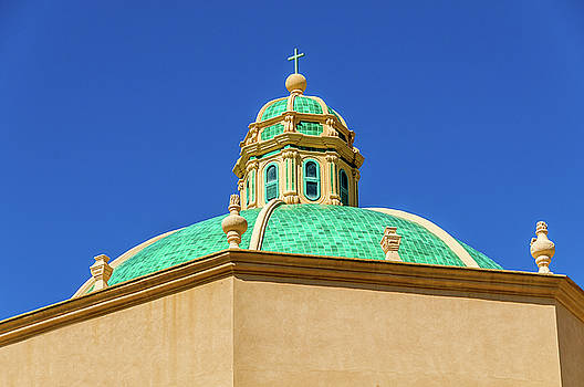 Dome on Church Marsala Sicily by Xavier Cardell