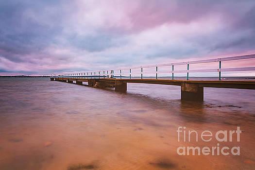 Domsten beach pier by Sophie McAulay