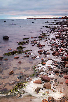 Domsten rocky beach by Sophie McAulay
