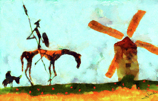 Don Quijote by George Rossidis