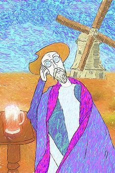 Don Quixote Dreams of Vincent Van Gogh or vice versa by John Haldane
