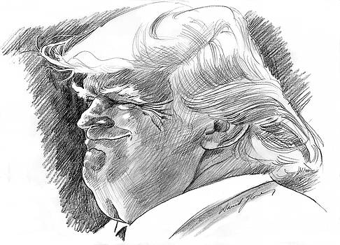 Donald Trump by David Lloyd Glover