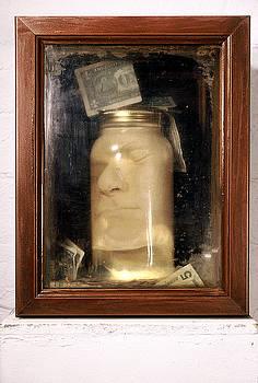 Donation Box by Marc David Leviton