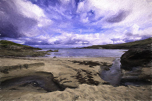 Donegal Shore by Chris  Hood