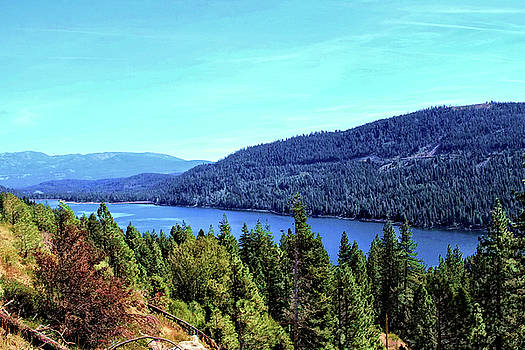 Donner Lake Afternoon by Bonnie Follett
