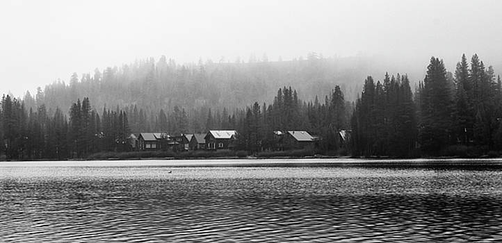 Donner Lake Houses by Adam Kilbourne