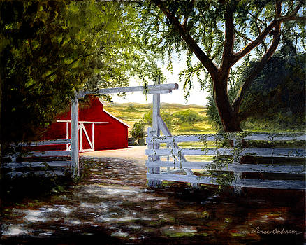 Don's Barn by Lance Anderson