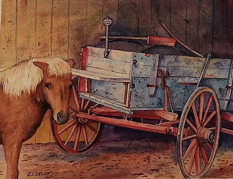 Dons Old Wagon by Chuck Creasy