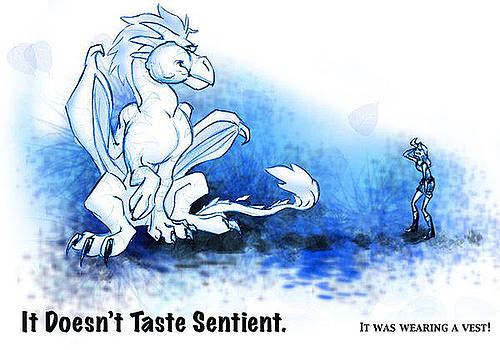 Don't Eat it if it's Sentient by Jamie Lindenmeier