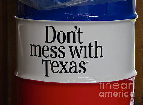 Don't Mess with Texas by Lori Amway