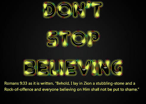 Don't Stop Believing by David Simons