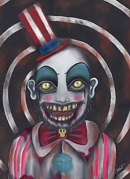 Don't you like clowns?  by Abril Andrade Griffith