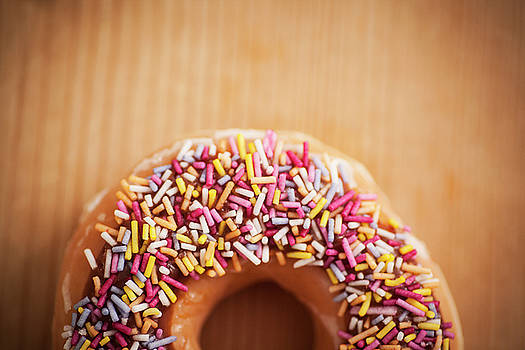 Donut and Sprinkles by Samuel Whitton