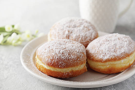 Donuts berlinera by Iuliia Malivanchuk