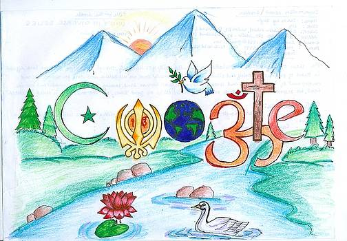 Doodle 4 Google by Tanmay Singh