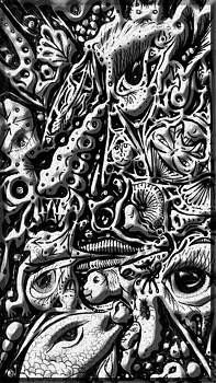 Doodle emboss by Darren Cannell