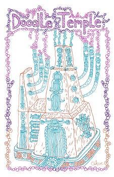 Doodle Temple by Cedric Plante