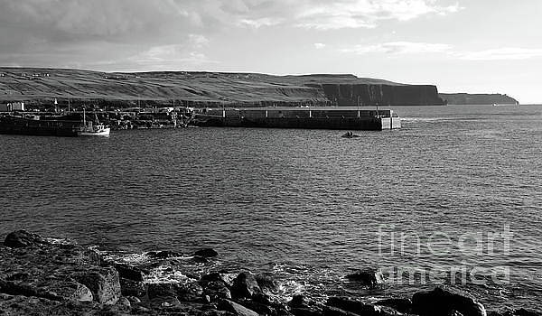 Doolin harbour by Peter Skelton
