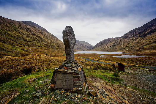 Doolough Famine Memorial Cross by Chris Hood