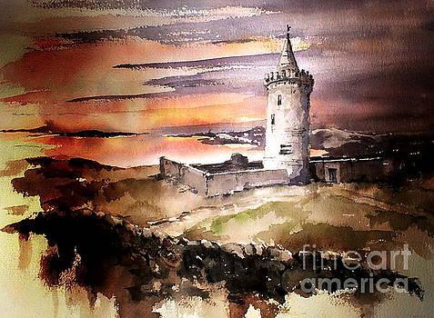 Val Byrne - Doonagore Castle, Doolin
