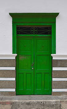 Door # 1  by Axko Color de paraiso